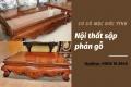 Sập phản gỗ giá rẻ Đức Tính – Vẻ đẹp kết nối đặc trưng giữa truyền thống và hiện đại!