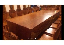 Bộ bàn ghế dài